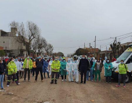Operativo Detectar en el Barrio San Lorenzo