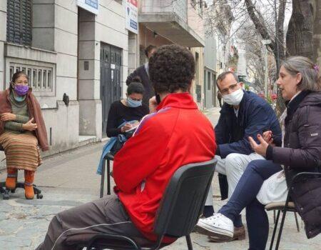 Voluntariado del Casco Urbano contra la pandemia